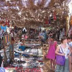 Anjuna Flea Market Goa Sightseeing
