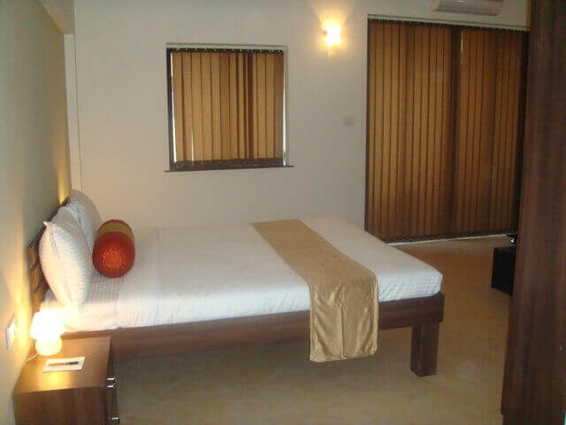 Executive Suites Bedroom at Goa Resorts