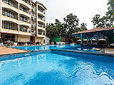 Swimming pool at Resort in Goa